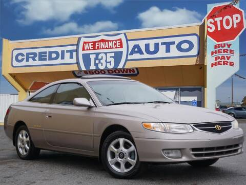 1999 Toyota Camry Solara for sale at Buy Here Pay Here Lawton.com in Lawton OK