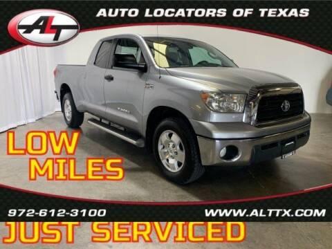 2007 Toyota Tundra for sale at AUTO LOCATORS OF TEXAS in Plano TX