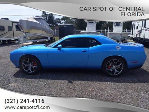 2016 Dodge Challenger for sale at Car Spot Of Central Florida in Melbourne FL