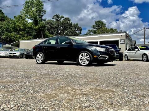 2015 Chevrolet Cruze for sale at Barrett Auto Sales in North Augusta SC