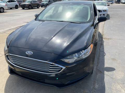 2017 Ford Fusion for sale at National Auto Sales Inc. - Hazel Park Lot in Hazel Park MI