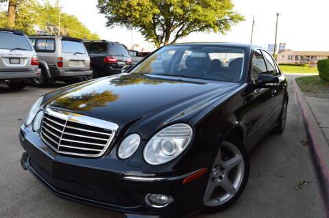 2009 Mercedes-Benz E-Class for sale at E-Auto Groups in Dallas TX