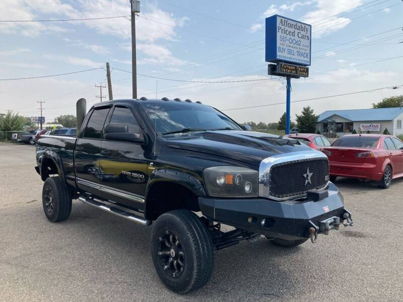 2006 Dodge Ram Pickup 2500 for sale at AFFORDABLY PRICED CARS LLC in Mountain Home ID