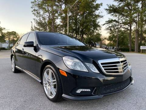 2010 Mercedes-Benz E-Class for sale at Global Auto Exchange in Longwood FL