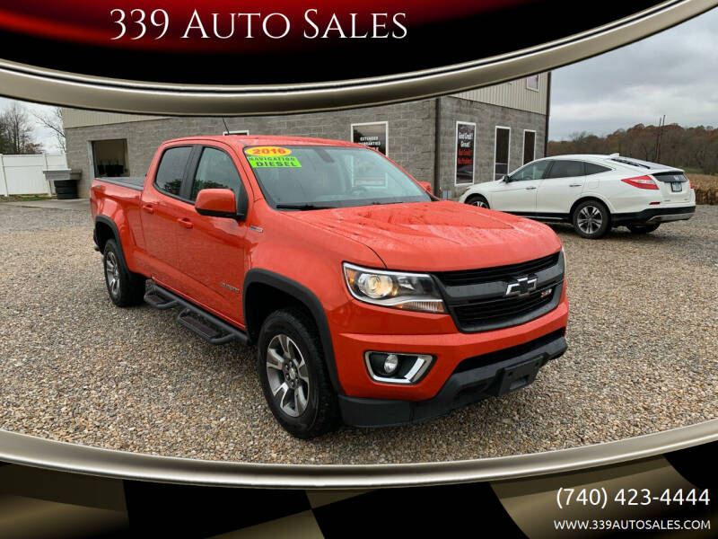 2016 Chevrolet Colorado for sale at 339 Auto Sales in Belpre OH
