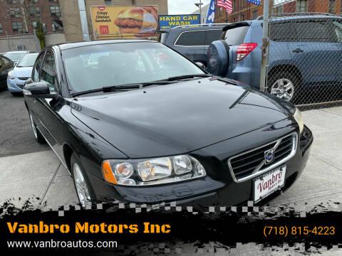 2007 Volvo S60 for sale at Vanbro Motors Inc in Staten Island NY