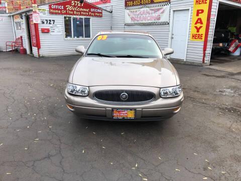 2003 Buick LeSabre for sale at RON'S AUTO SALES INC in Cicero IL