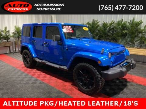 2014 Jeep Wrangler Unlimited for sale at Auto Express in Lafayette IN