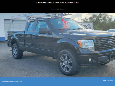 2014 Ford F-150 for sale at A NEW ENGLAND AUTO & TRUCK SUPERSTORE in East Windsor CT