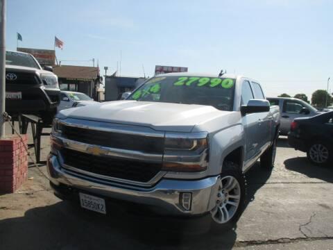 2018 Chevrolet Silverado 1500 for sale at Quick Auto Sales in Modesto CA