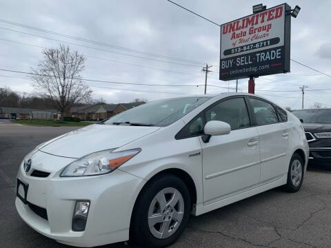 2010 Toyota Prius for sale at Unlimited Auto Group in West Chester OH