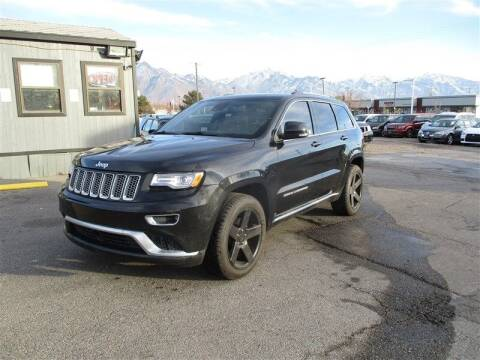 2015 Jeep Grand Cherokee for sale at Central Auto in South Salt Lake UT