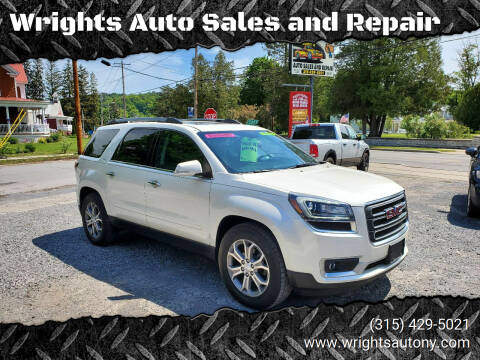 2013 GMC Acadia for sale at Wrights Auto Sales and Repair in Dolgeville NY