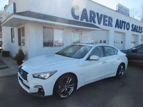 2019 Infiniti Q50 for sale at Carver Auto Sales in Saint Paul MN