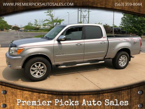 2006 Toyota Tundra for sale at Premier Picks Auto Sales in Bettendorf IA
