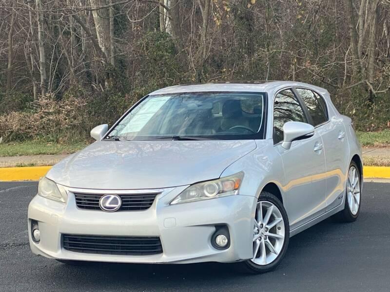 2012 Lexus CT 200h for sale at Diamond Automobile Exchange in Woodbridge VA