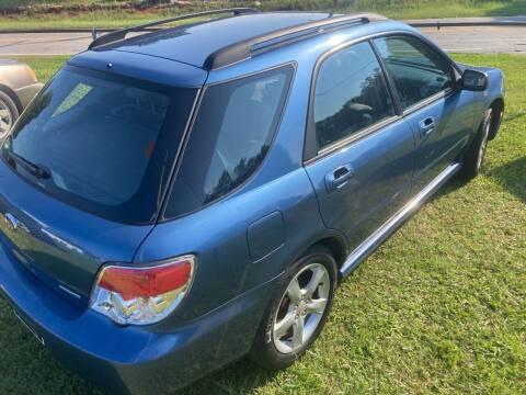 2007 Subaru Impreza for sale at UpCountry Motors in Taylors SC