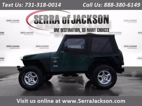 2000 Jeep Wrangler for sale at Serra Of Jackson in Jackson TN