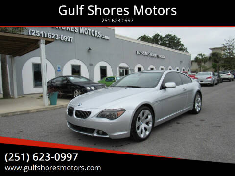 2006 BMW 6 Series for sale at Gulf Shores Motors in Gulf Shores AL
