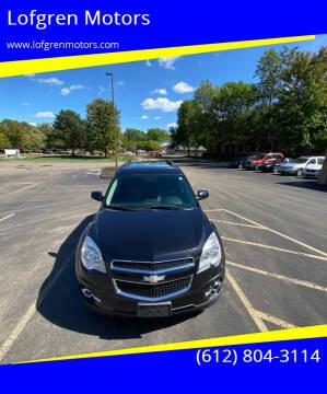 2012 Chevrolet Equinox for sale at Lofgren Motors in Wayzata MN