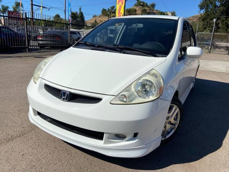 2007 Honda Fit for sale at Vtek Motorsports in El Cajon CA