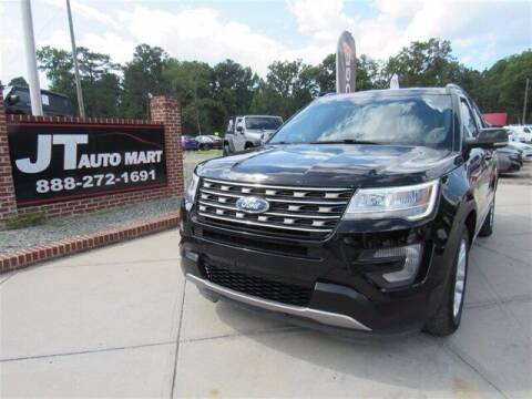 2017 Ford Explorer for sale at J T Auto Group in Sanford NC