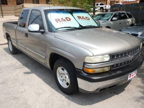 2000 Chevrolet Silverado 1500 for sale at R & D Motors in Austin TX
