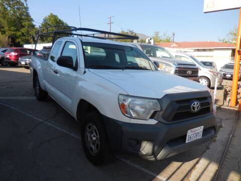 2015 Toyota Tacoma for sale at ARAX AUTO SALES in Tujunga CA