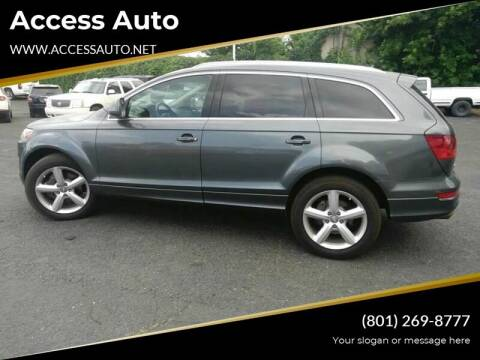 2008 Audi Q7 for sale at Access Auto in Salt Lake City UT