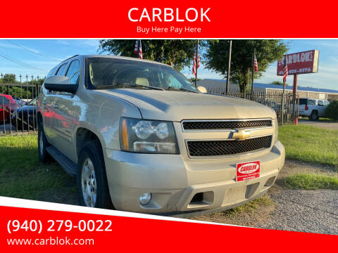 2007 Chevrolet Tahoe for sale at CARBLOK in Lewisville TX