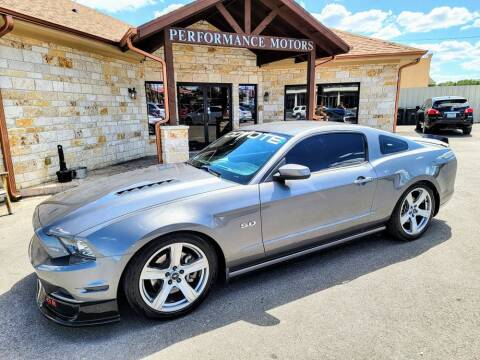 2013 Ford Mustang for sale at Performance Motors Killeen Second Chance in Killeen TX