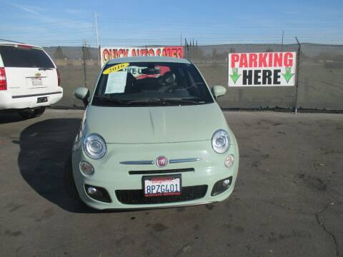 2016 FIAT 500 for sale at Quick Auto Sales in Modesto CA