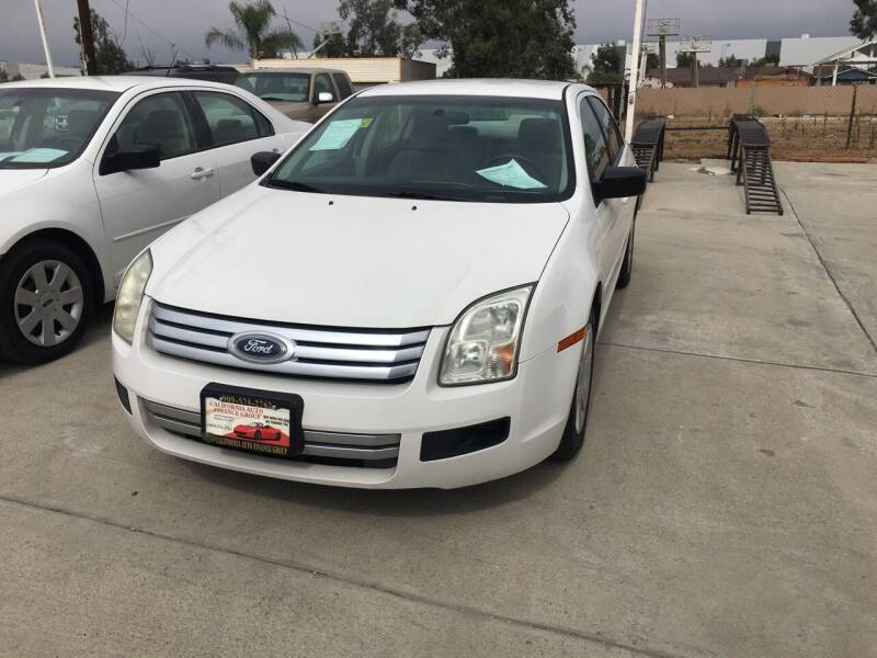 2008 Ford Fusion for sale at CALIFORNIA AUTO FINANCE GROUP in Fontana CA