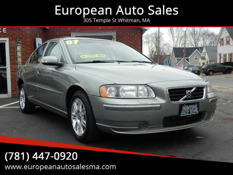 2007 Volvo S60 for sale at European Auto Sales in Whitman MA