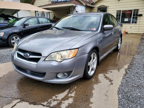 2008 Subaru Legacy for sale at Auto Town Used Cars in Morgantown WV