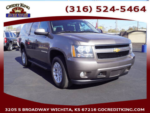 2012 Chevrolet Suburban for sale at Credit King Auto Sales in Wichita KS