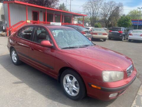 2003 Hyundai Elantra for sale at Blue Line Auto Group in Portland OR