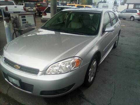 2011 Chevrolet Impala for sale at Payless Car & Truck Sales in Mount Vernon WA