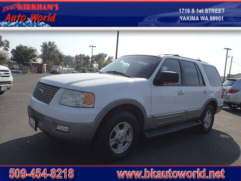 2003 Ford Expedition for sale at Bruce Kirkham Auto World in Yakima WA
