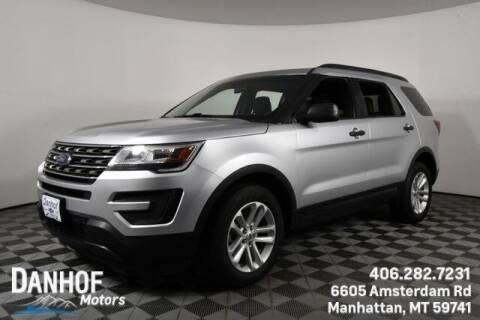 2016 Ford Explorer for sale at Danhof Motors in Manhattan MT