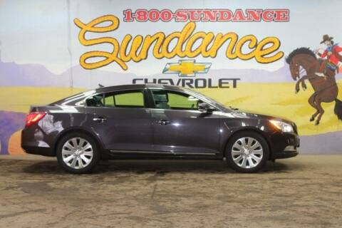 2014 Buick LaCrosse for sale at Sundance Chevrolet in Grand Ledge MI