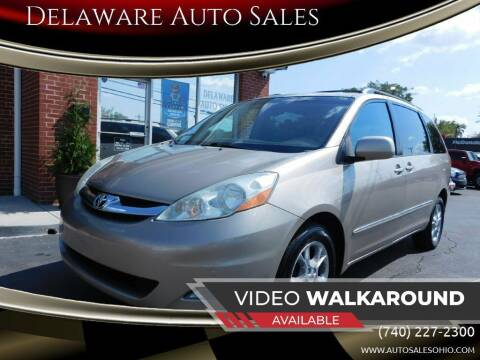 2006 Toyota Sienna for sale at Delaware Auto Sales in Delaware OH