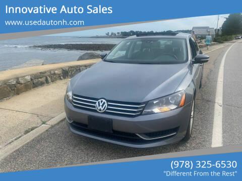 2014 Volkswagen Passat for sale at Innovative Auto Sales in North Hampton NH