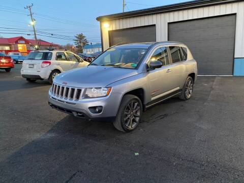 2016 Jeep Compass for sale at Sisson Pre-Owned in Uniontown PA