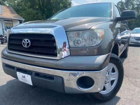2007 Toyota Tundra for sale at Mega Motors in West Bridgewater MA