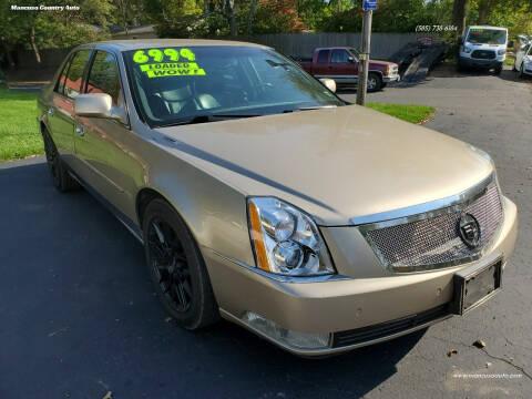 2006 Cadillac DTS for sale at Mancuso Country Auto in Batavia NY