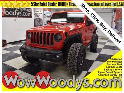 2020 Jeep Wrangler for sale at WOODY'S AUTOMOTIVE GROUP in Chillicothe MO