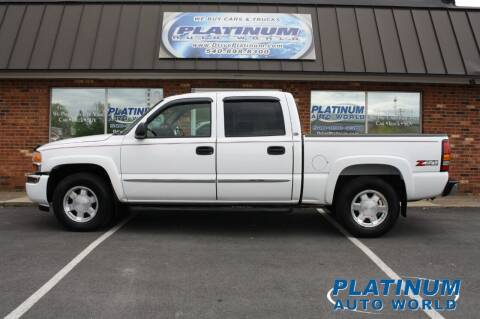 2006 GMC Sierra 1500 for sale at Platinum Auto World in Fredericksburg VA