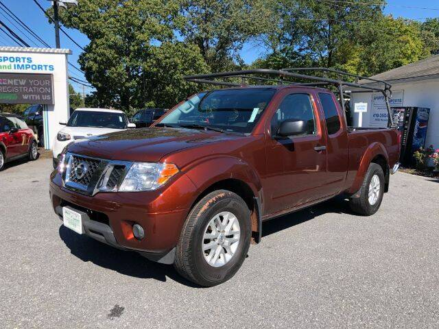 2017 Nissan Frontier for sale at Sports & Imports in Pasadena MD