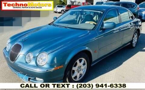 2000 Jaguar S-Type for sale at Techno Motors in Danbury CT